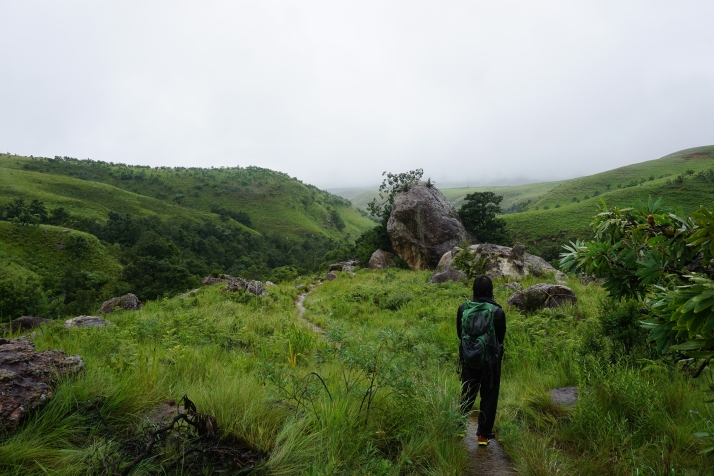 Hiking the Cascades Trail in Royal Natal National Park