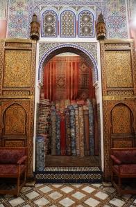 fes-morocco-medina-rug-store-2016
