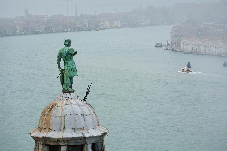 View over Venice from the Campanile of San Giorgio Maggiore
